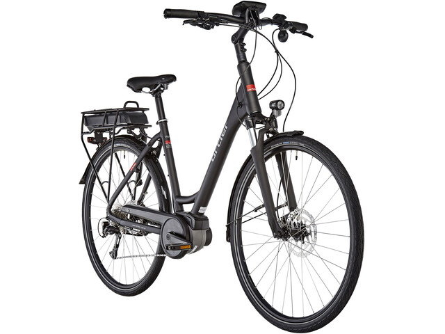 Ortler Tours Nyon E-trekkingcykel Wave sort | City-cykler